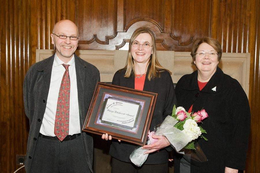 Candace J. Johnson Award Recipient from 2007, Marga Schulwerk Hampel