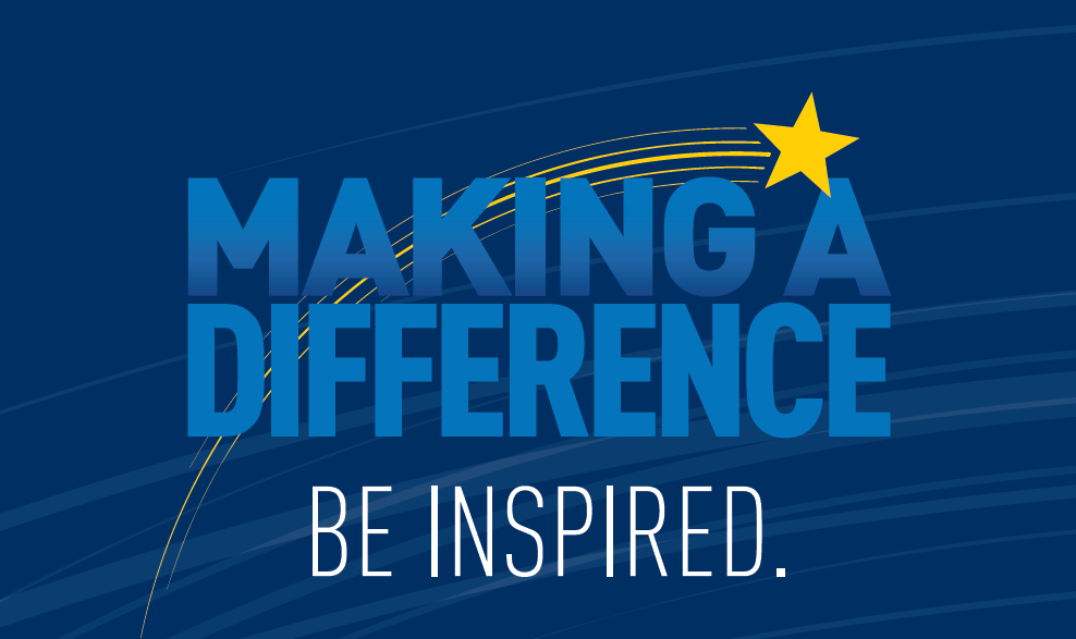 Making a Diffeence - Be Inspired